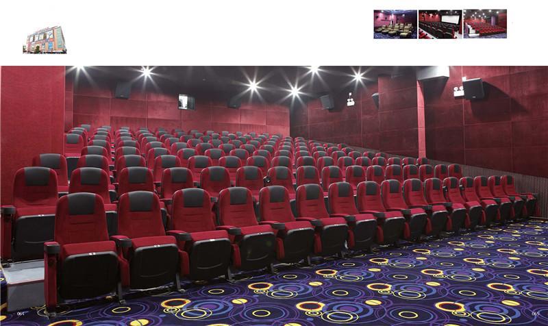 批发广东佛山鸿基礼堂椅生产最流行常用礼堂椅电影院座椅工程图片