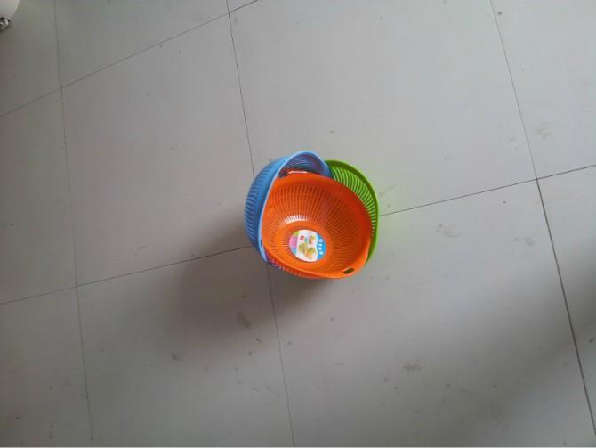 筛子洗米箩滴水箩洗菜盆洗菜塑料_塑料洗米箩设备制造天然气图片