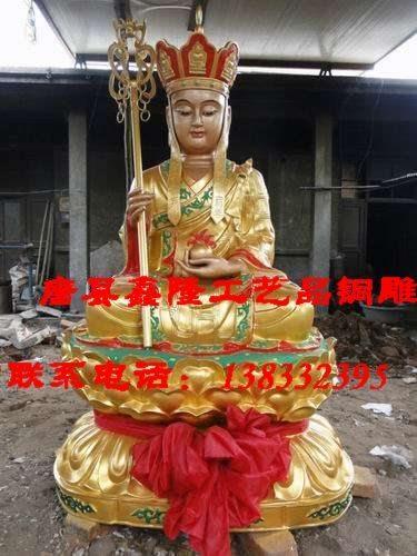 供应藏佛铜铸 三面佛精铸 佛像最低报价 出厂价销售 千手观音