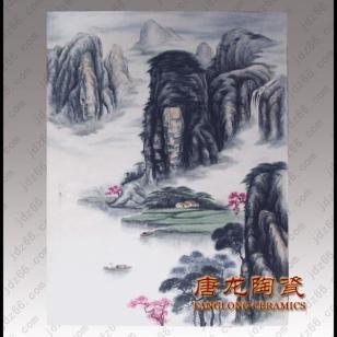 景德镇大型装饰陶瓷瓷板画图片