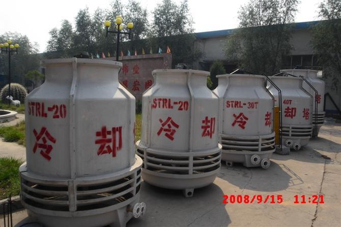 供应太原玻璃钢冷却塔图片