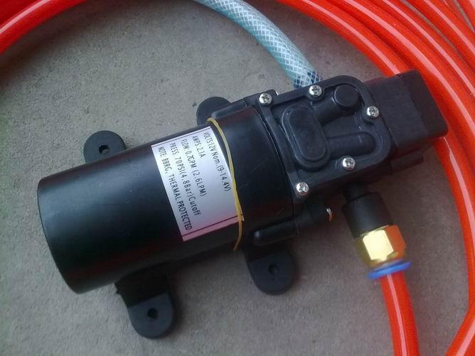 泵 电动喷雾器水泵 直流隔膜泵图片