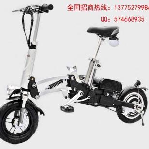 折叠锂电池自行车图片