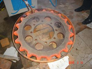 供应变速箱齿轮淬火设备/减速机齿轮淬火机 变速箱齿轮链轮淬火设备