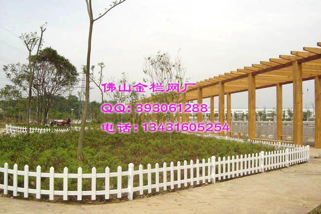 供应广东PVC小区护栏安装图片