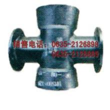 供应三承一插四通球墨铸铁材质十字管件