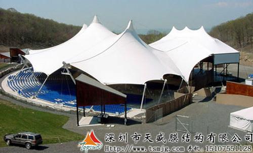 供应广西张拉膜广场、景观膜结构设计施工