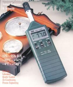 数字式温湿度计TES-1360A