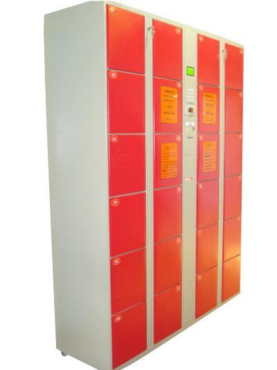 供应上海存包柜定制/上海超市存包柜/上海24门条码存包柜