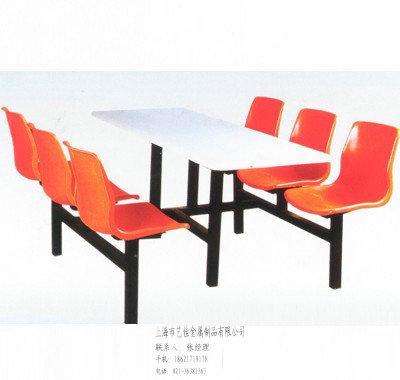 供应艺佳餐桌餐厅餐桌连体餐桌/艺佳餐桌/餐厅餐桌/连体餐桌/圆凳子