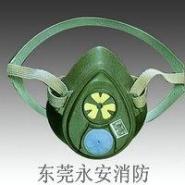 3M3200半面具防毒面具图片
