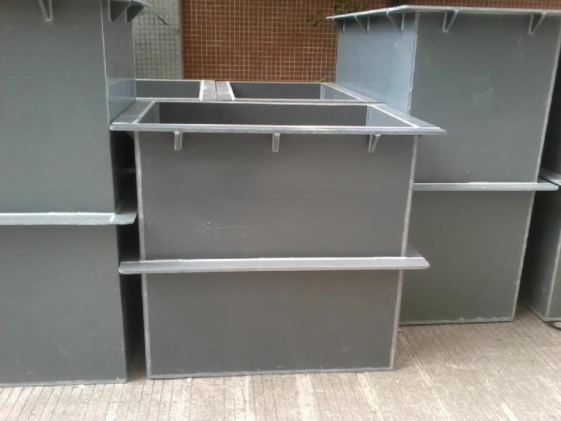 供应加工耐酸碱PVC容器