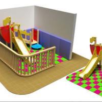 木制滑梯,餐厅儿童乐园,麦当劳滑梯,KFC儿童乐园,进口木儿童滑梯