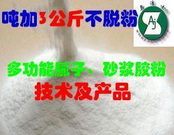 供应多功能胶粉生产技术系列及产品