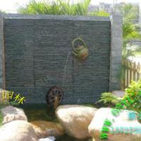 供应水幕墙流水景观制作/文化石流水墙/个性水景效果/制作流水墙