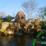 供应大型户外黄蜡石假山 盆景水景流水绿化田园景观园林造景