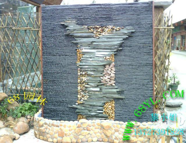 环境 鱼池/供应室外内水幕墙装饰假山鱼池 美化大自然环境园林设计图片