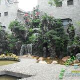 供应狮山庭院花园英石假山制作 绿化田园舒适生活