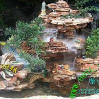 供应千层石假山景观造型石园林造景 喷泉盆景假山装饰鱼池