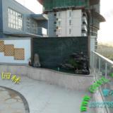 供应大型户外场所水幕墙装饰 假山鱼池花架凉亭园林设计