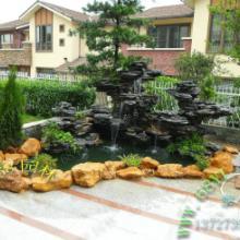供应英石假山出售/假山鱼池制作/室内外花园园林设计景观养锦利池批发