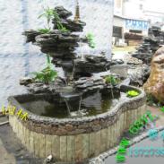 广东佛山英石假山鱼池盆景YD-1093图片