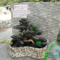 供应家居摆设移动英石假山鱼池 流水盆景水景装饰鱼池假山