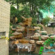 户外花园摆设黄蜡石假山图片