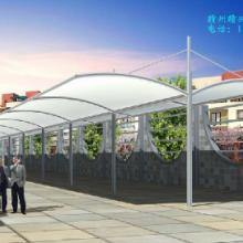 江西赣州玻璃式雨棚