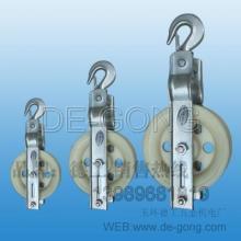 供应批发各种电缆滑轮,三轮进口滑轮厂,转角滑轮尼龙单轮零售批发