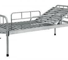 供应西安宏伟不锈钢床头带护栏护理床西安不锈钢护理床