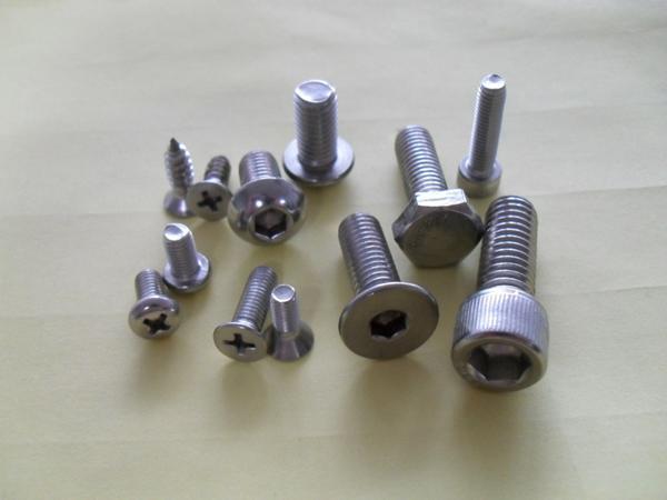 供应美制不锈钢圆头螺丝