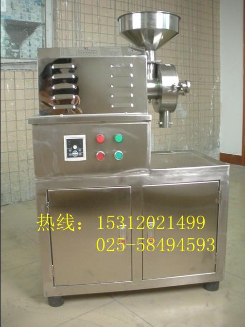 供应淮北带柜不锈钢五谷杂粮磨粉机