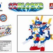 3D战士七巧匠新款塑料积木玩具图片