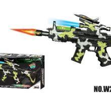 供应发射功能发音玩具枪