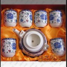 供应茶具套装/陶瓷茶具/高档手绘陶瓷茶具/功夫茶具/骨瓷茶具