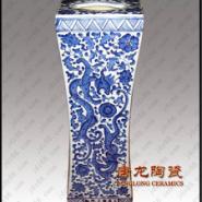 景德镇青花瓷陶瓷大花瓶图片