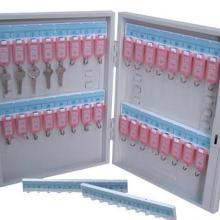 供应壁挂式钥匙箱 办公家具100位钥匙箱壁挂挂墙钥匙柜图片