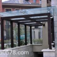 玻璃雨棚厂家/玻璃雨棚供应商图片