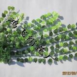 仿真丝印小西瓜叶壁挂藤,仿真壁挂藤,仿真西瓜叶藤壁挂,仿真叶藤,绢花