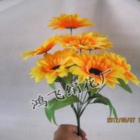 仿真九头向日葵把花仿真太阳花绢花
