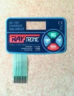 电子薄膜开关PVC按键面贴图片
