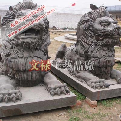 供应铸铜狮子故宫铜狮子