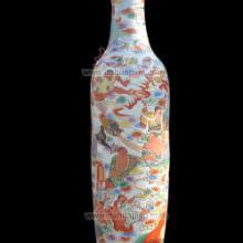 供应十八罗汉大花瓶 大花瓶网新款推荐 粉彩瓷大花瓶