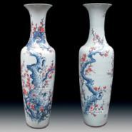 1米6红梅报春图陶瓷大花瓶图片