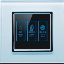 供应液晶触摸开关勿扰门铃开关