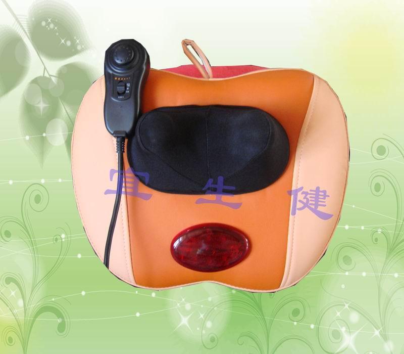 供应苹果颈椎按摩器  多功能保健按摩器材 烟台宜生健
