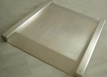 超低台面不锈钢单层小地磅图片
