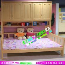 供应广州儿童家具全实木床子母床双层床组合床青少年床批发