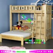 广州家具批发实木组合床儿童双层床图片